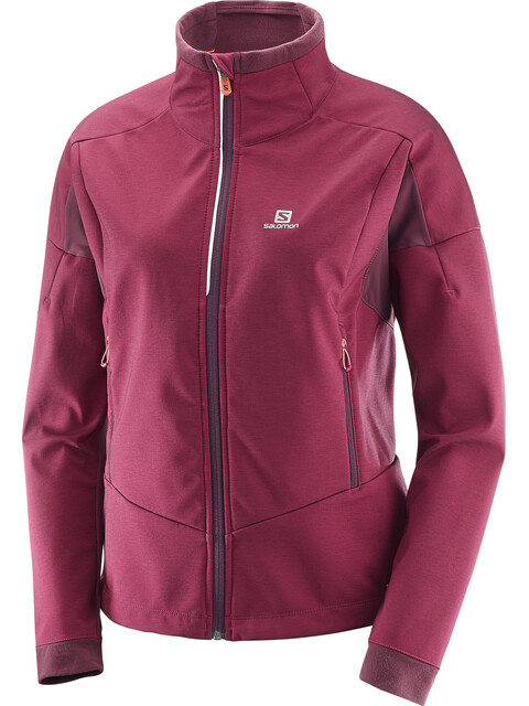 Salomon Equipe TR Jacket Women Beet Red/Fig